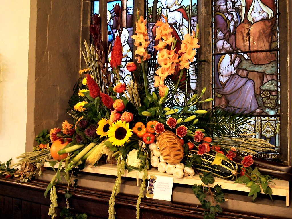 the art of flowers & stained glass